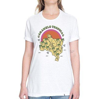 Caramelo Tropical - Camiseta Basicona Unissex