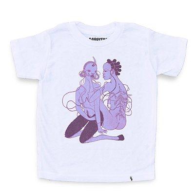 Down on Me #azmina - Camiseta Clássica Infantil