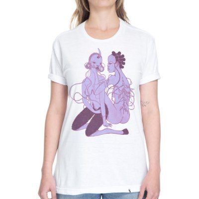 Down on Me #azmina - Camiseta Basicona Unissex
