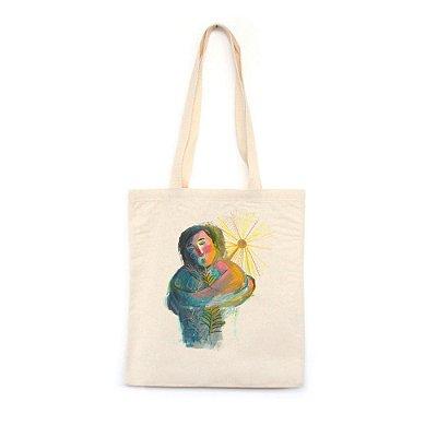 Auto-amor #azmina  - Bolsa de Lona--