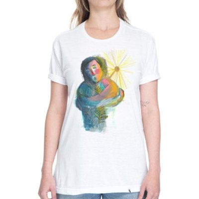 Auto-amor #azmina - Camiseta Basicona Unissex