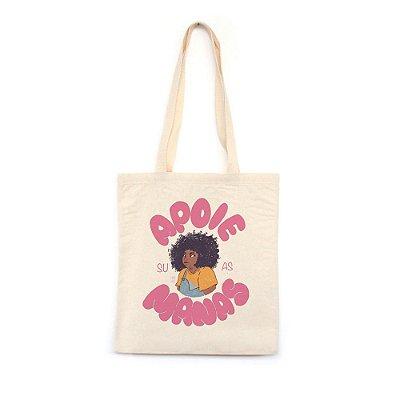 Apoie Suas Manas #azmina  - Bolsa de Lona--