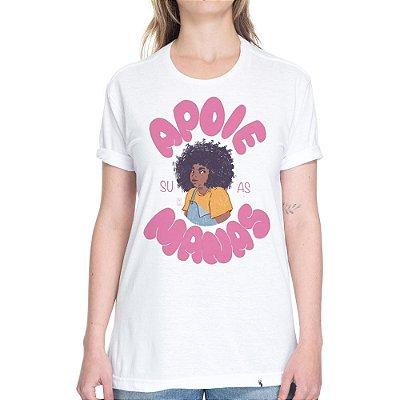 Apoie Suas Manas #azmina - Camiseta Basicona Unissex