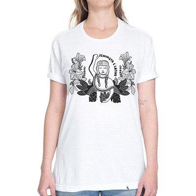 Feminista e Latina #azmina - Camiseta Basicona Unissex