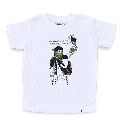 Verá Que Filha Tua #azmina - Camiseta Clássica Infantil