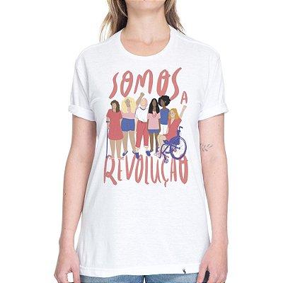 Somos a Revolução #azmina - Camiseta Basicona Unissex