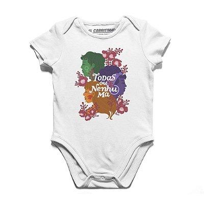 Todas ou Nenhuma #azmina - Body Infantil