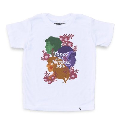 Todas ou Nenhuma #azmina - Camiseta Clássica Infantil