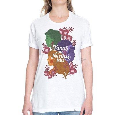 Todas ou Nenhuma #azmina - Camiseta Basicona Unissex