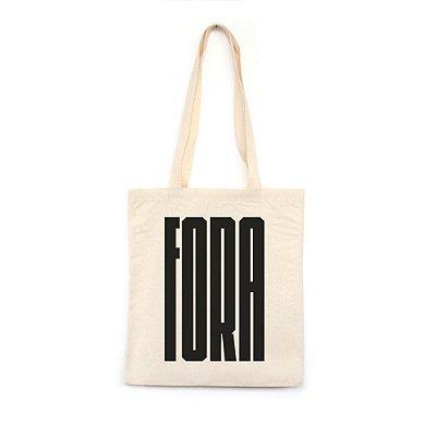 Fora  - Bolsa de Lona--