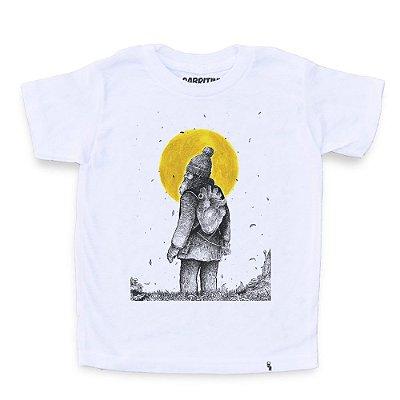 Quando Eu Ainda Esperava o Meu Amor Voltar - Camiseta Clássica Infantil