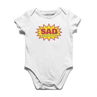 Sad and Brazilian - Body Infantil