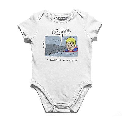 O Golfinho Marxista - Body Infantil
