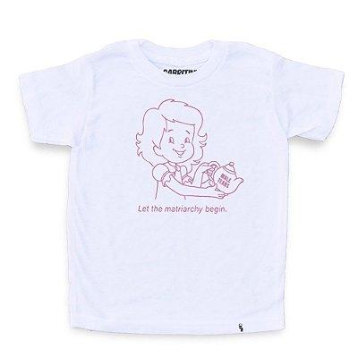 Let The Matriarchy Begin - Camiseta Clássica Infantil