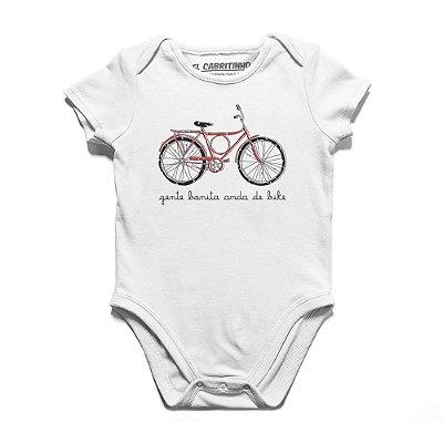 Gente Bonita Anda de Bike - Body Infantil