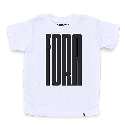 Fora - Camiseta Clássica Infantil