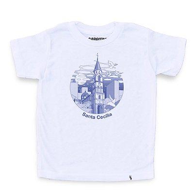 Sta Cecilia - Camiseta Clássica Infantil