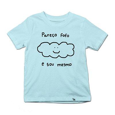 Pareço Fofo - Camiseta Clássica Infantil