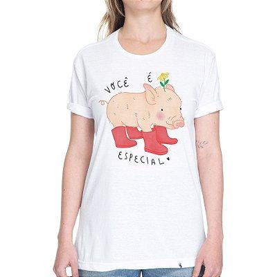 Você é Especial - Camiseta Basicona Unissex