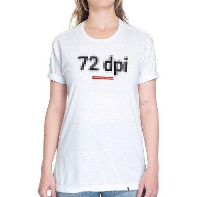 72 DPI - Camiseta Basicona Unissex