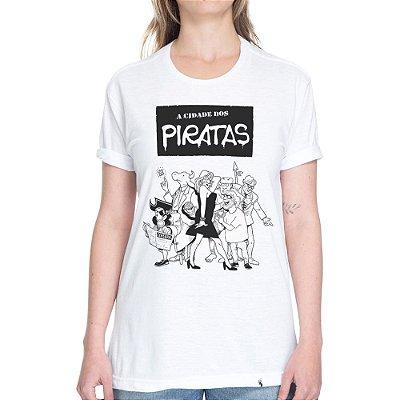A Cidade dos Piratas - Camiseta Basicona Unissex