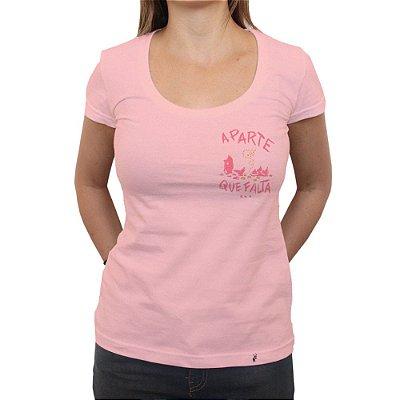 A Parte Que Falta - Camiseta Clássica Feminina