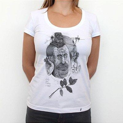 Aberto Para Conhecer o Novo - Camiseta Clássica Feminina
