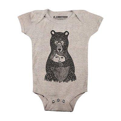 Abraço de Urso - Body Infantil