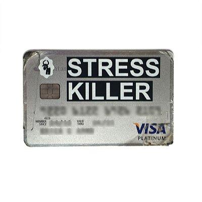 Adesivo de Cartão – Stress Killer