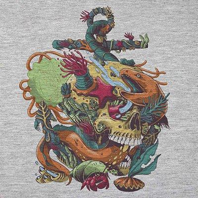 Afterdeath - Camiseta Clássica Masculina