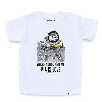 All Is Love - Camiseta Clássica Infantil