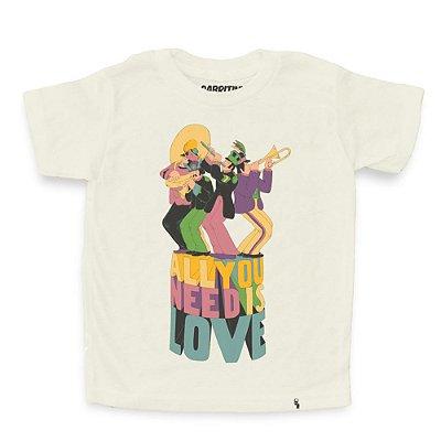 All You Need - Camiseta Clássica Infantil