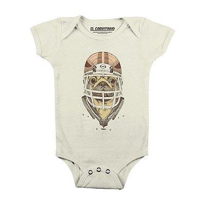 American Football Pug - Body Infantil