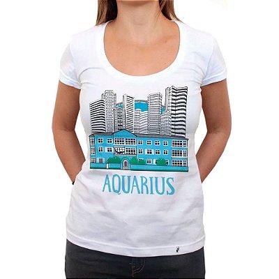 Aquarius Prédio - Camiseta Clássica Feminina