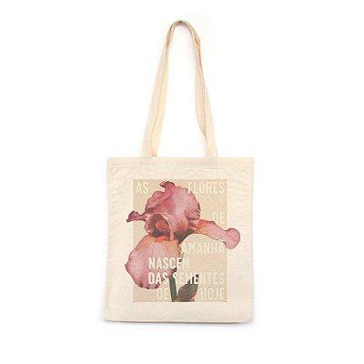 As Flores de Amanhã - Bolsa de Lona-Off White-U
