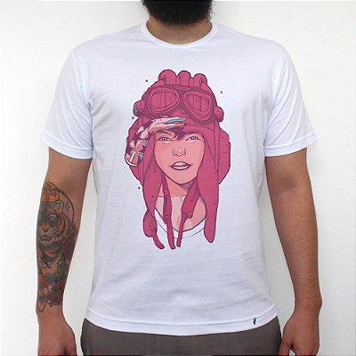 Aviadora - Camiseta Clássica Masculina