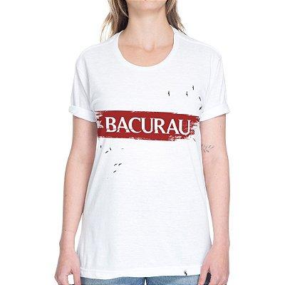 Bacurau Logo #bacurau - Camiseta Basicona Unissex - Branca