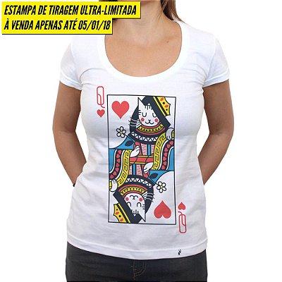Baralho - Camiseta Clássica Feminina