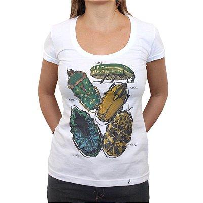 Beetles - Camiseta Clássica Feminina