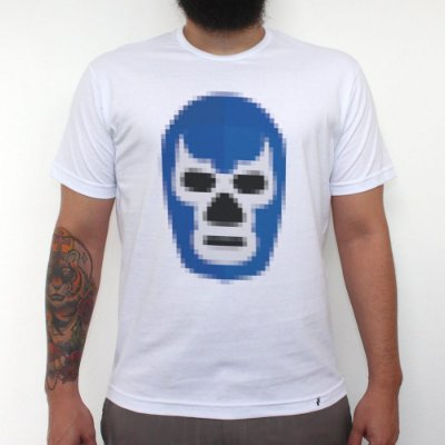 Blue Demon - Camiseta Clássica Masculina