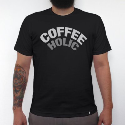 Café Intenso - Camiseta Clássica Masculina