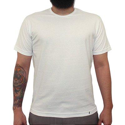 Camiseta Clássica Masculina Lisa Off White