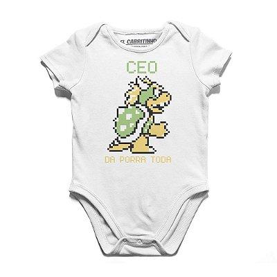 CEO da Porra Toda - Body Infantil