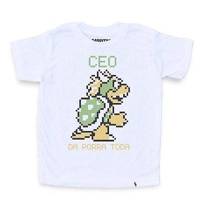 CEO da Porra Toda - Camiseta Clássica Infantil