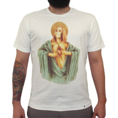 Corazon Abierto - Camiseta Clássica Masculina