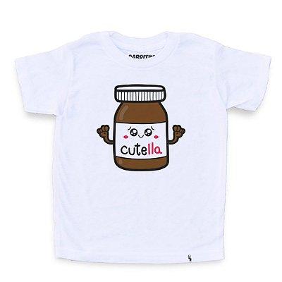 Cutella - Camiseta Clássica Infantil