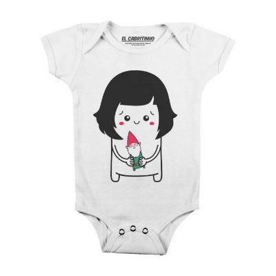 Cuti Amélie - Body Infantil