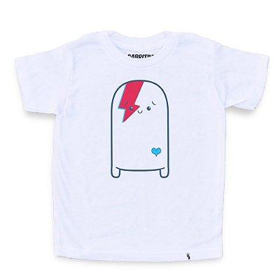 Cuti Bowie - Camiseta Clássica Infantil
