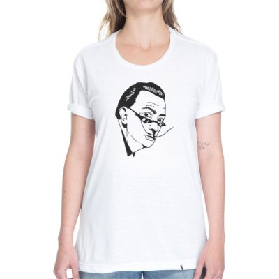 Dali Hipster - Camiseta Basicona Unissex