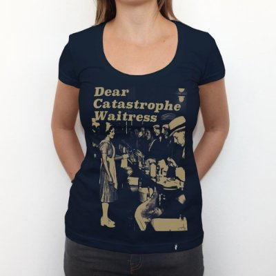 Dear Catastrophe Waitress - Camiseta Clássica Feminina